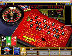 Roulette Royale di Microgaming